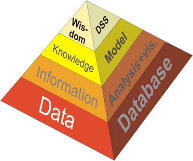 Knowledge and information systems hierarchy